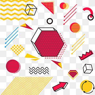 Mao Desenhada Elementos Geometricos Solidos Graficos Desenho Animado Fofa Colorido Imagem Png E Vetor Para Download Gratuito In 2021 Graphic Design Background Templates Geometric Graphic Geometric Vector