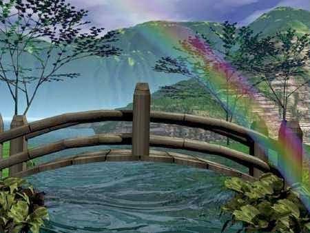 Pin Von Bonnie Lonnevik Auf Rainbow Bridge Regenbogenbrucke