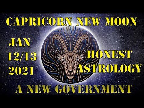 New Moon in Capricorn January 12/13 2021, Daily Horoscope: New Government ~ Honest Astrology - #capricornnewmoon #royalstarofthelion #asabovesobelow #astrology #evolutionaryenergy