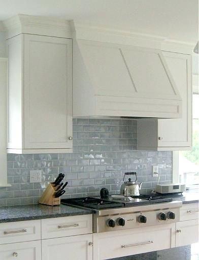 Light Blue Glass Subway Tile Backsplash Kitchen Google Search