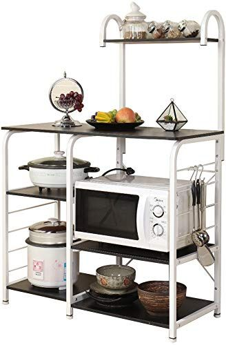 New Sogespower Kitchen Baker S Rack 3 Tier 4 Tier Microwave Stand