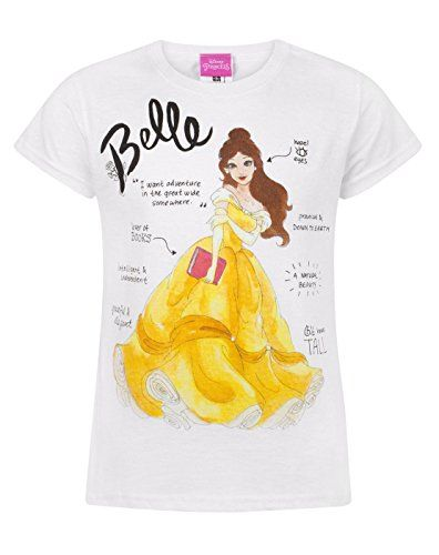 Disney Beauty And The Beast Girls Belle Love T-Shirt