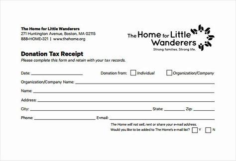 Nonprofit Donation Receipt Template Beautiful 23 Donation Receipt Templates Pdf Word Excel Pages In 2020 Donation Letter Donation Form Receipt Template