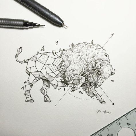 List Of Pinterest Toro Tattoo Geometric Images Toro Tattoo