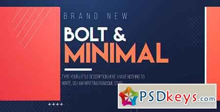 Bolt & Minimal 19589717 After Effects Template | psd keys