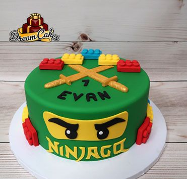 Ninjago Cake By Dream Cakes Chicago Ninjago Cakes Lego Birthday
