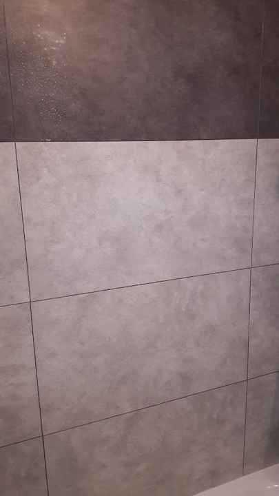Vieillissement Des Dalles Murales En Pvc Dumawall 2 Ans Plus Tard Parement Mural Relooker Salle De Bain Renovation Salle De Bain