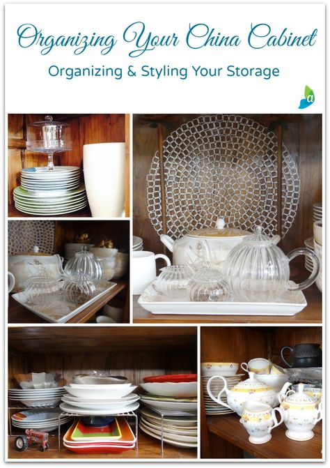how to set up your china hutch