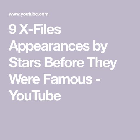 x files movie youtube