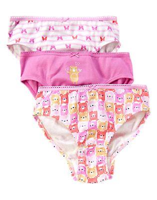 98809de106432b Esme Girls 3 Pack Underwear Blue Lagoon Print | Stuff to buy | Underwear,  Boys underwear, Underwear sale