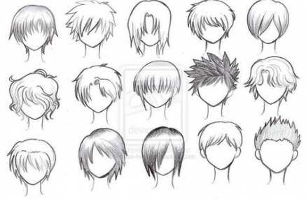 45 Ideas Hair Drawing Male Anime Characters For 2019 Hair Drawing Anime Character Drawing Anime Boy Hair Manga Hair