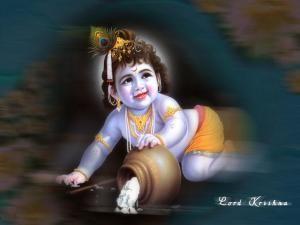 Happy Krishna Janmashtami Hd 3d Wallpaper Krishna