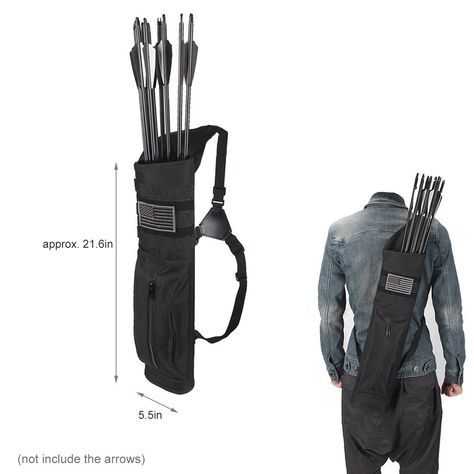 Sports & Entertainment Bow & Arrow 2018 New Arrival Leather Arrow Quiver Bag Archery Shooting Hunting Accessories Riding Brown For Bow Arrows Holder 52cm Shoulder Outstanding Features