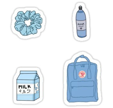 Blue Themed Sticker With Images Cute Stickers Iphone Case
