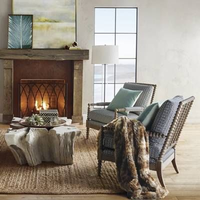 Miller Bobbin Accent Chair | Frontgate