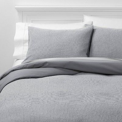 Duvet Covers Textured Cover, Target Gray Bedding Sets