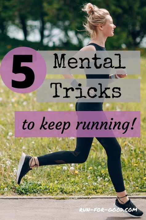Most runners have those moments when they have nothing left mentally. Try some of these mental running tricks to push through rough patches. #mentalrunning #runningtips