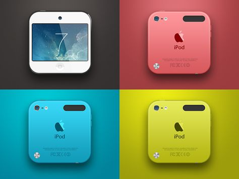 Color by Chuan² (iPod touch concept)