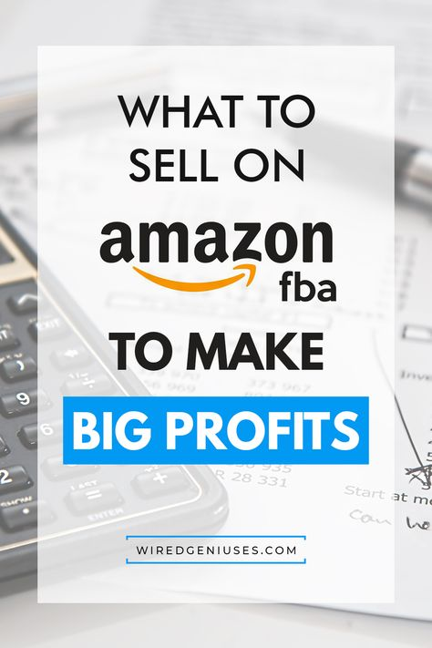 What To Sell On Amazon FBA