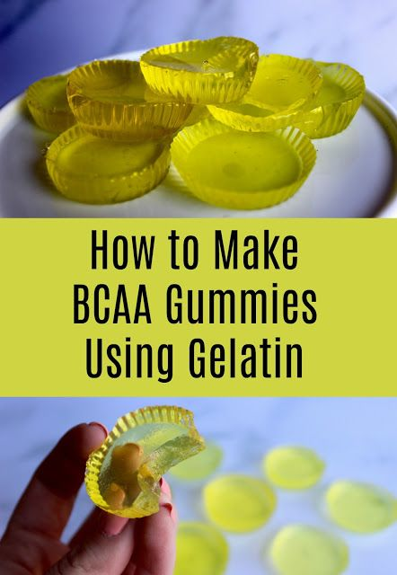 How To Make Bcaa Gummies Gummies Recipe Low Cal Recipes Bear Recipes