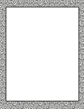 Coloring Blank Pages Blank Page Book Making Binder Covers