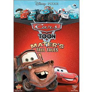 Cars Toon: Mater's Tall Tales (Two Disc Blu-ray/DVD Combo) - - Rev up your engines for this unforgettable collection of Cars Toons starring Mater, the lovable and hilarious tow truck from the hit movi