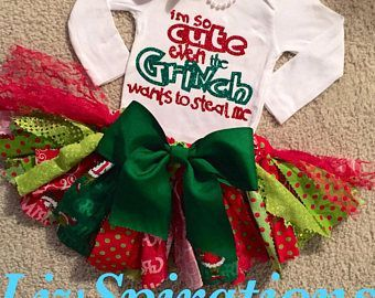 The Grinch 2020 Christmas Outfit Grinch in 2020 | Grinch christmas party, Toddler christmas outfit