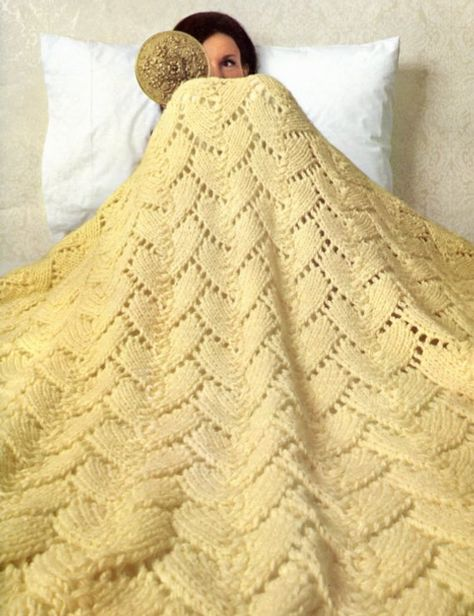 Hello Sunshine, Knit Blanket Pattern