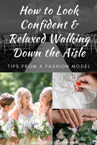 Check out these tips from a Model that will have you looking confident  at ease walking down the aisle on your wedding day. #bridalbeautytips #weddingday #weddingplanning #bridalexpert