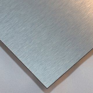 Alucom Aluverbund Platte In Silber Materialstarke 3mm Pvc Paneele Doppelstegplatten Deckenvertafelung