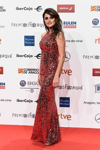Penelope Cruz hits the red carpet during the Jose Maria Forque Awards 2019 at Palacio de Congresos.