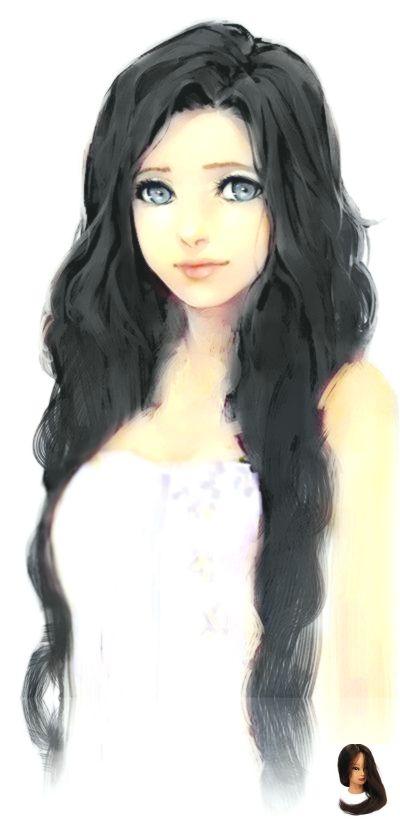 Anime Black Hair Anime Dr Girl Meitu Original Picutre Play Wwwpinterestcom Xiu Play With Xiu Xiu Meitu Orig Girl Drawing How To Draw Hair Art Girl