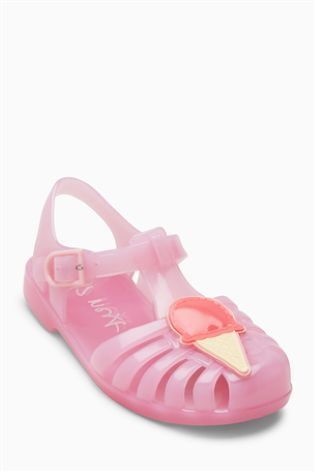 Pink Ice Cream Jelly Shoes (Younger