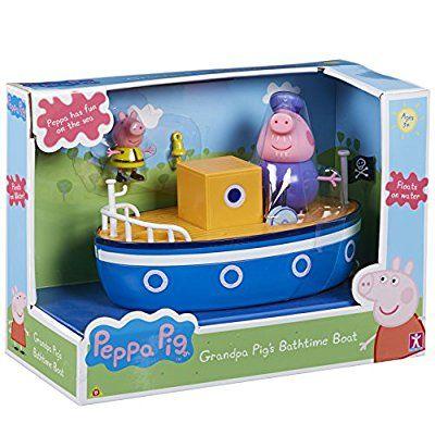 Peppa Pig 12 852 4 Cm Papi Pig De Heure Du Bain Bateau Amazon Fr Jeux Et Jouets Peppa Pig Jeu Jouet Figurines