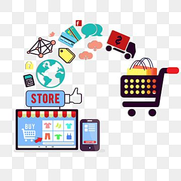 Business Concept Of Online Shopping E Commerce Internet Illustration Online Png Transparent Clipart Image And Psd File For Free Download Buy Computer Plexus Products Mobile App Templates Ecommerce background images for online