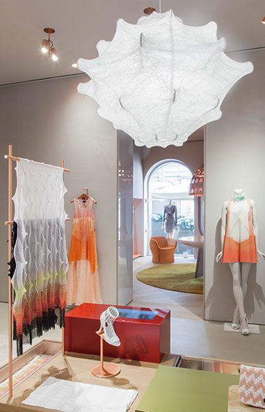 Patricia Urquiolas Design For Missonis Flagship Store In Milan