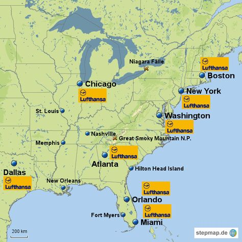 Ostkueste Usa 143675 Png 640 640 Landkarte Karten