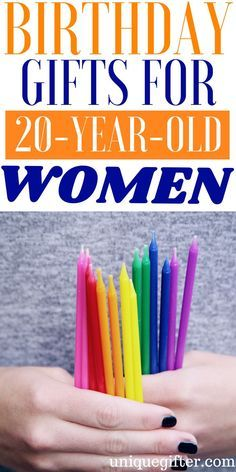 20 Birthday Gifts For Year Old Women