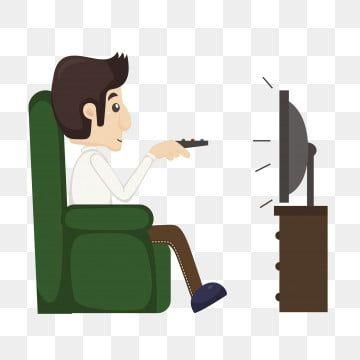 Hombre De Dibujos Animados El Hombre Hombre Viendo La Television Viendo Tv Clipart Television Dibujos Animados De Tv Png Y Vector Para Descargar Gratis Png Dibujos Animados Animes Tv Manos Dibujo