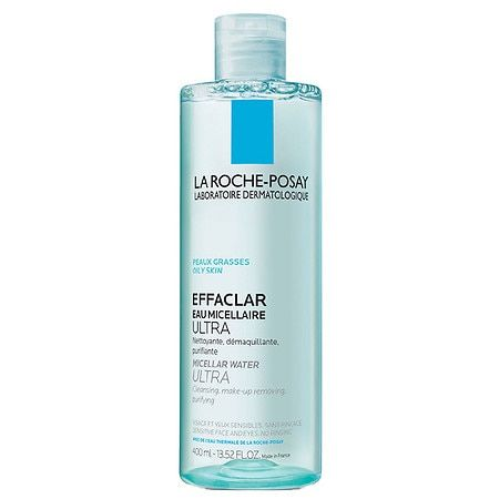 La Roche Posay Effaclar Micellar Water And Facial Cleanser For Oily Skin In 2020 Cleanser For Oily Skin Roche Posay Effaclar La Roche Posay