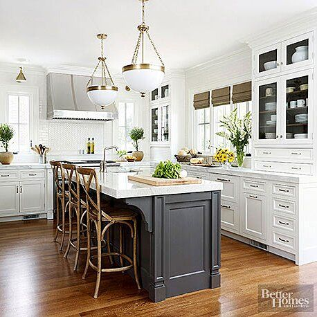 22 Contrasting Kitchen Island Ideas For A Stand Out Space Contrasting Kitchen Island Black Kitchen Island White Kitchen Island