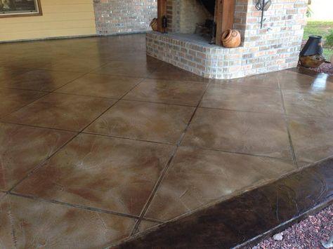 Epoxy Flooring Concrete Resurfacing Staining Lafayette La Concrete Interiors Concrete Floors Concrete Decor