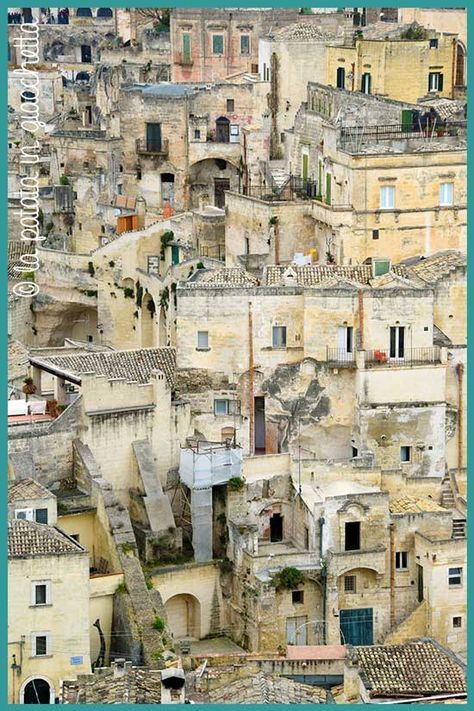 viaggio in Basilicata itinerario da sei giorni: Matera, abitazioni tipiche