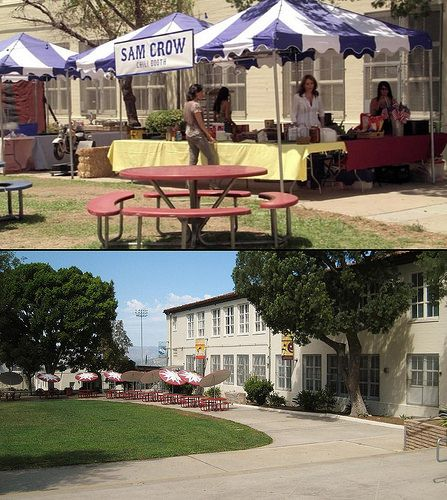 Sons of Anarchy filming location ep 105 | Verdugo Hills High School in Tujunga, Calif was used for the carnival and fireworks show.