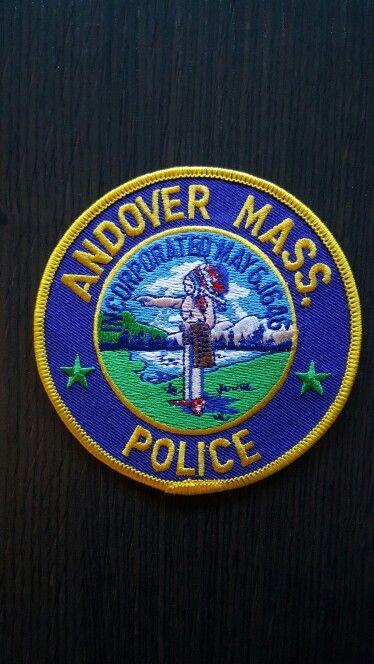 Andover Police Ma Escudo Policiales
