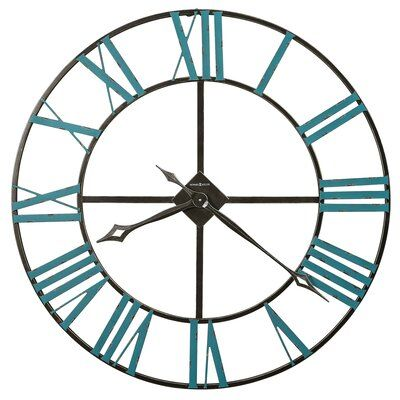 Howard Miller Oversized St Clair 36 Wall Clock In 2021 Gallery Wall Clock Oversized Wall Clock Metal Wall Clock Howard miller oversized wall clock