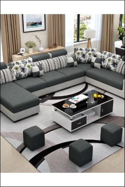 25 Awesome Living Room Furniture Sets Ashley Ide Sofa Ruang Tamu Set Ruang Keluarga Desain Sofa
