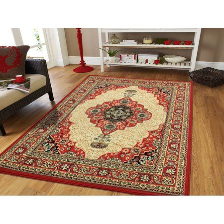 Red Persian Area Rugs On Clearance Large 8x11 Rugs For Living Room