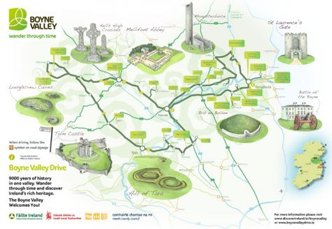 Map Of Ireland Newgrange.Ireland S Ancient East Why You Should Go And What You Can T Miss