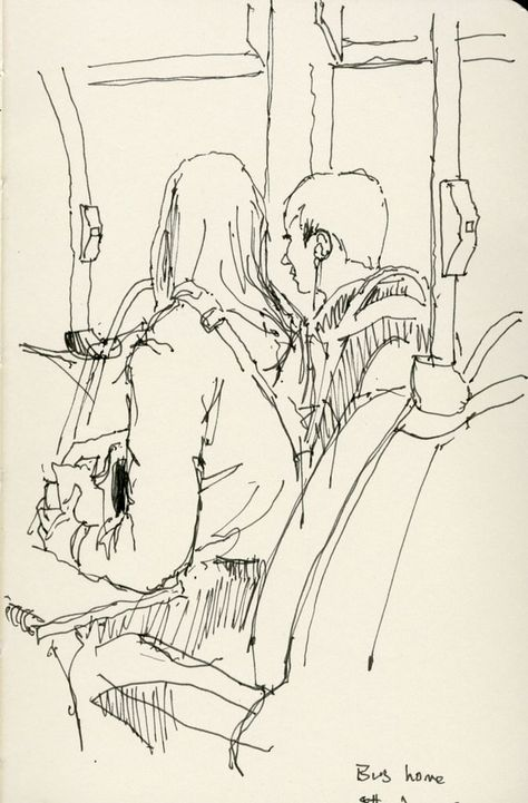 Bus home 8th June 2015